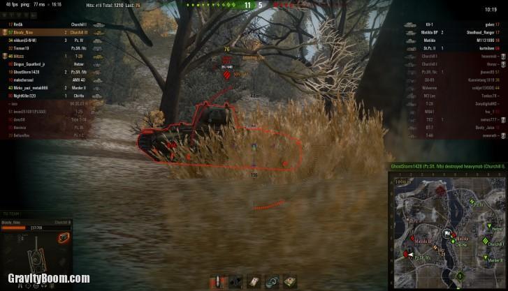 world of tanks scope