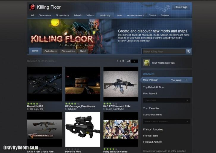 killing floor workshop
