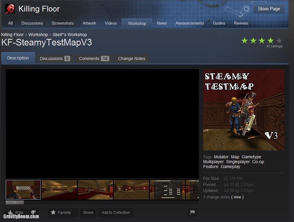 Good Killing Floor Test Map