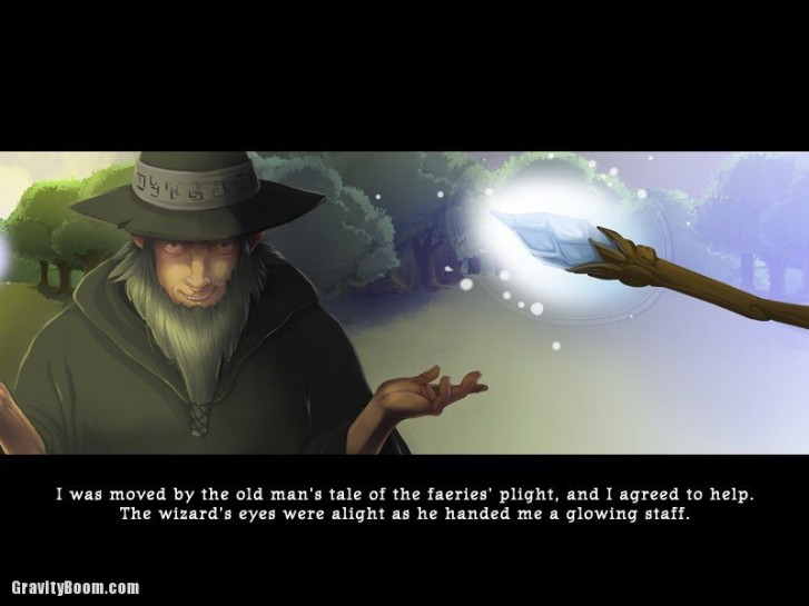 faerie solitaire story