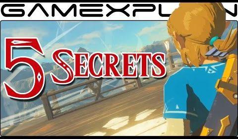 5-SECRETS-in-Zelda-Breath-of-the-Wilds-Life-in-the-Ruins-Trailer