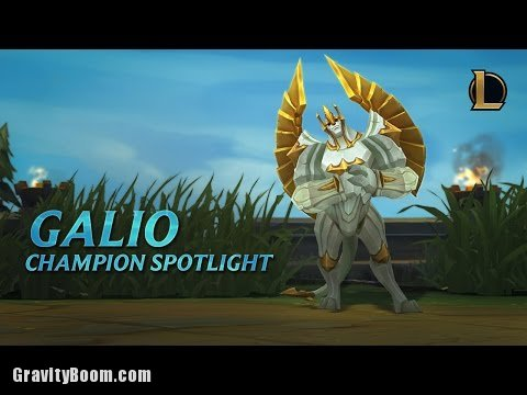 Galio Champion Spotlight Gameplay League Of Legends