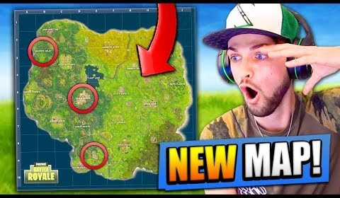 new map revealed for fortnite battle royale - ali a playing fortnite new videos